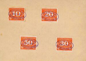 Card-Stamp-Germany-Poland-General-Gov-039-t-Mi-P01-4-1940-WWII-3rd-Reich-Porto-Used