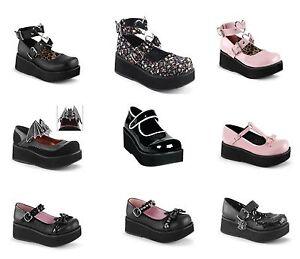 Womens SPR02/BPPT Platform Shoe Demonia zazGMKVT1