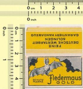 FLEDERMAUS-Razor-Blade-Wrapper-Lame-Rasoir-Lametta-Barba-Rasierklinge-Lama-71