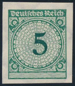 DR-1923-MiNr-339-a-U-ungezaehnt-postfrisch-Kurzbefund-Schlegel-Mi-350