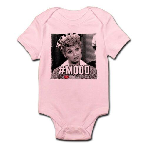 138206528 CafePress I Love Lucy #Mood Cute Infant Bodysuit Baby Romper