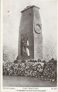 PC29361 The Cenotaph. In Memory of Our Glorious Dead. W. and K. London. No 63