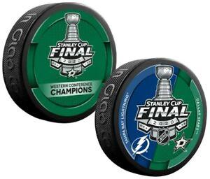 Dallas Stars 2020 NHL Stanley Cup Final Souvenir Hockey Pucks (2-Pack)