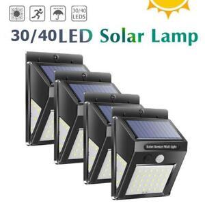 30-70LED-Solare-Pir-Motion-Sensore-Muro-Lampada-Esterno-Impermeabile-da-Sentiero