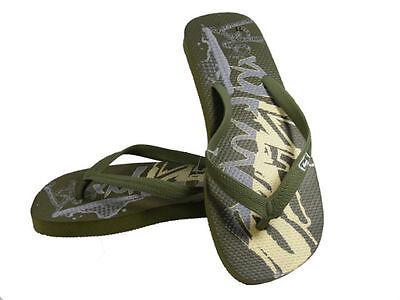 Para Hombre Flip Flop Toe Post Verano Playa Zapatos 5 Colores 3 Tamaños
