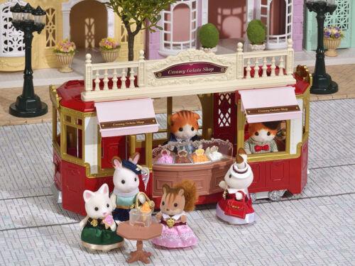 Sylvanian Families Calico Critters Town Series Creamy Gelato Shop