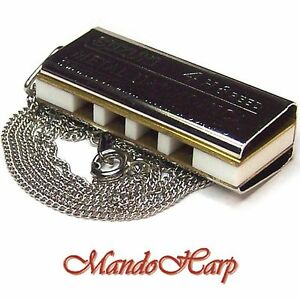 Suzuki-Miniature-Harmonica-N-1200-with-Neck-Chain-NEW