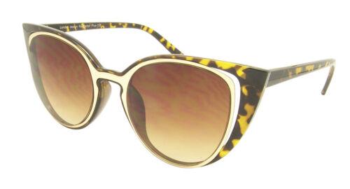 A Punta Cat Eye occhiali da sole moda donna LENTE A SPECCHIO Rockabilly CORNICI ANNI/'60