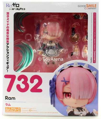 Nendoroid #732 Ram Life in Another World Re Zero IN STOCK USA SELLER AUTHENTIC