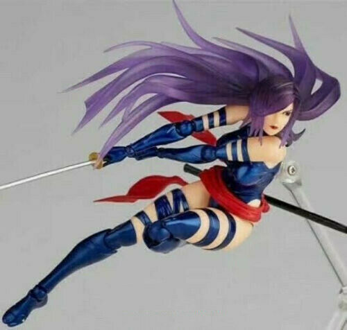 Amazing Yamaguchi Revoltech Figure Complex Psylocke No 010 Figurine Toy IN Box