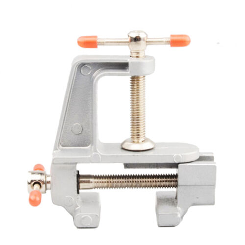 "3.5/"" Aluminum Small Jewelers Hobby Clamp On  Table Bench Vise Mini Tool ZY"