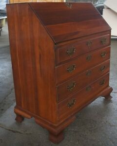 Monitor Furniture Solid Wild Cherry Secretary Desk Early