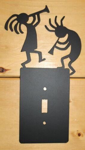 KOKOPELLI Single Light Switch Plate Cover Southwest Rustic Plasma Cut Metal Art