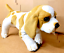 NEW CUTE PUG DALMATIAN ROTTWEILER DOG SOFT PLUSH CUDDLY TOY REAL LOOK UK SELLER