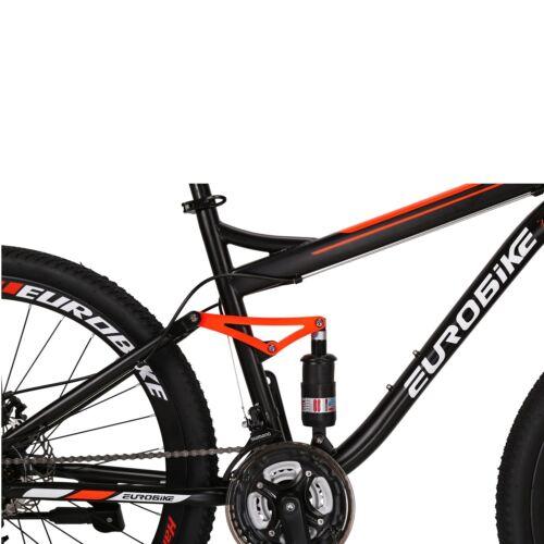 "27.5"" Full Suspension Mountain bike Mens Bikes 21 Speed Bicycle Disc Brakes MTB"