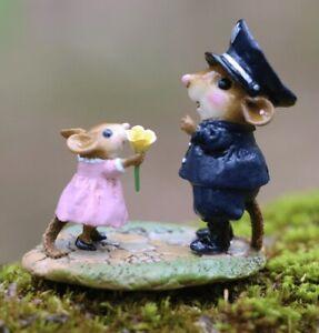 Wee Forest Folk Retired Figurine M-525 - My Hero