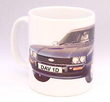 Classic Car Ford Capri Birthday Gift Personalised number plate Mug New Present