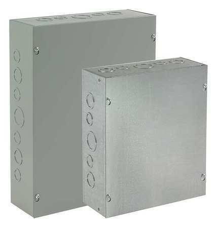 "HOFFMAN ASE18X18X6 NEMA 1 18.00/""H x 18.00/""W x 6.00/""D Wall-Mount Carbon Steel"