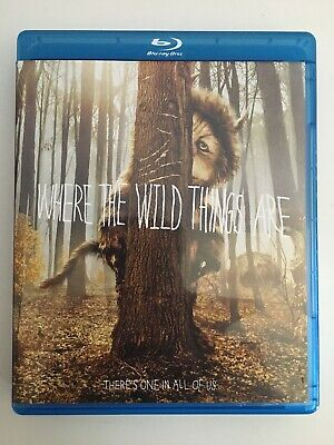 Where the Wild Things Are (Blu-ray/DVD, 2010) 2 disc ...