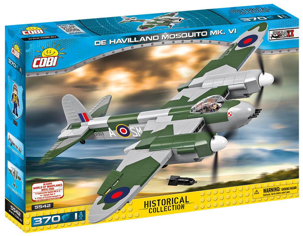 Cobi Cobi Cobi 5542 - Small Army - WWII De Havilland Mosquito Mk.Vi - Neu 302acb