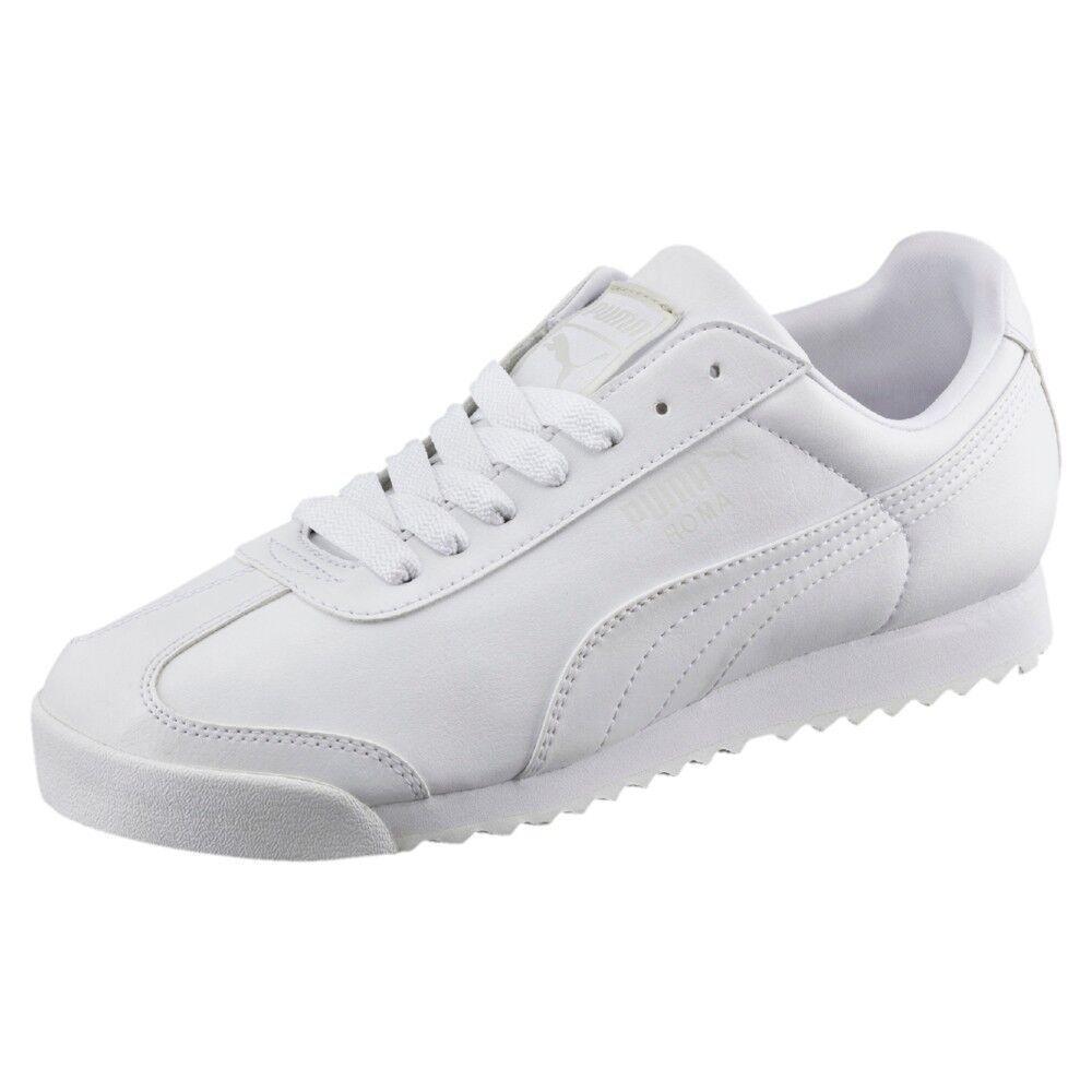 Puma Roma Basic Sneaker 353572 Weiss 21 Herrenschuhe