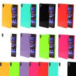 Schutzhülle Silikon Handyhülle Cover Hülle Tasche Case Backcover Neon Glänzend