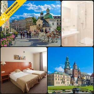 Kurzurlaub-Krakau-3-Tage-2-Personen-Hotel-Staedtereise-Wochenende-Hotelgutschein
