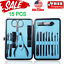 15PCS-Set-Manicure-Pedicure-Set-Nail-Clippers-Callus-Remover-Kit-Hand-Foot-Care thumbnail 1