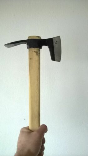 STEEL COMBINED AXE & ADZE PICK MATTOCK DIGGER CAMPING TOOL HIKING HUNTING