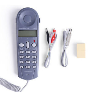 C019 Telephone Network Tester Telephone Phone-Butt Test Tool Tester Cable V6E4