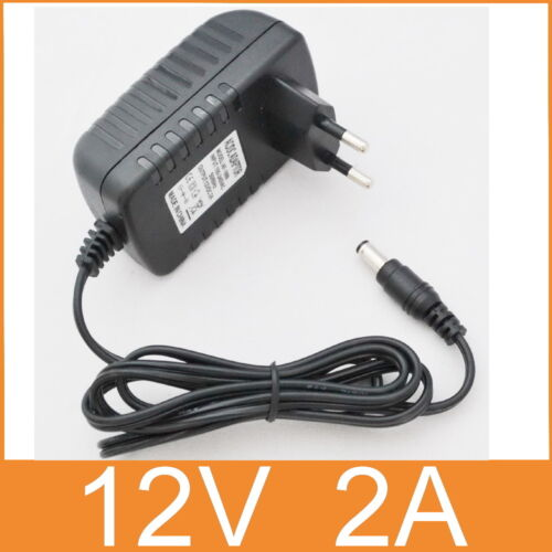 AC 100V-240V swithing power supple DC 12V 2A Adapter EU plug DC 5.5mm × 2.5mm