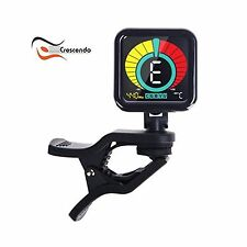 Crescendo ZenTuner Clip-On Tuner Acoustic Electric Guitar Bass ... Free Shipping