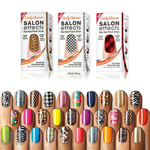 Image is loading Sally-Hansen-salon-effects-Nail-Polish-Strips-Stickers-