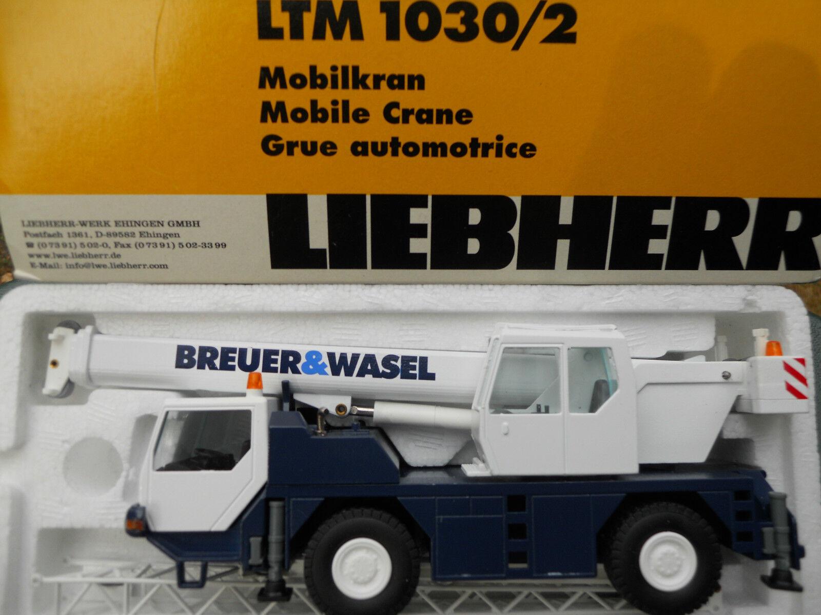 CONRAD 2088 LIEBHERR LTM 1030 2  BREUER & WASEL VERSION 2  MINT IN BOX