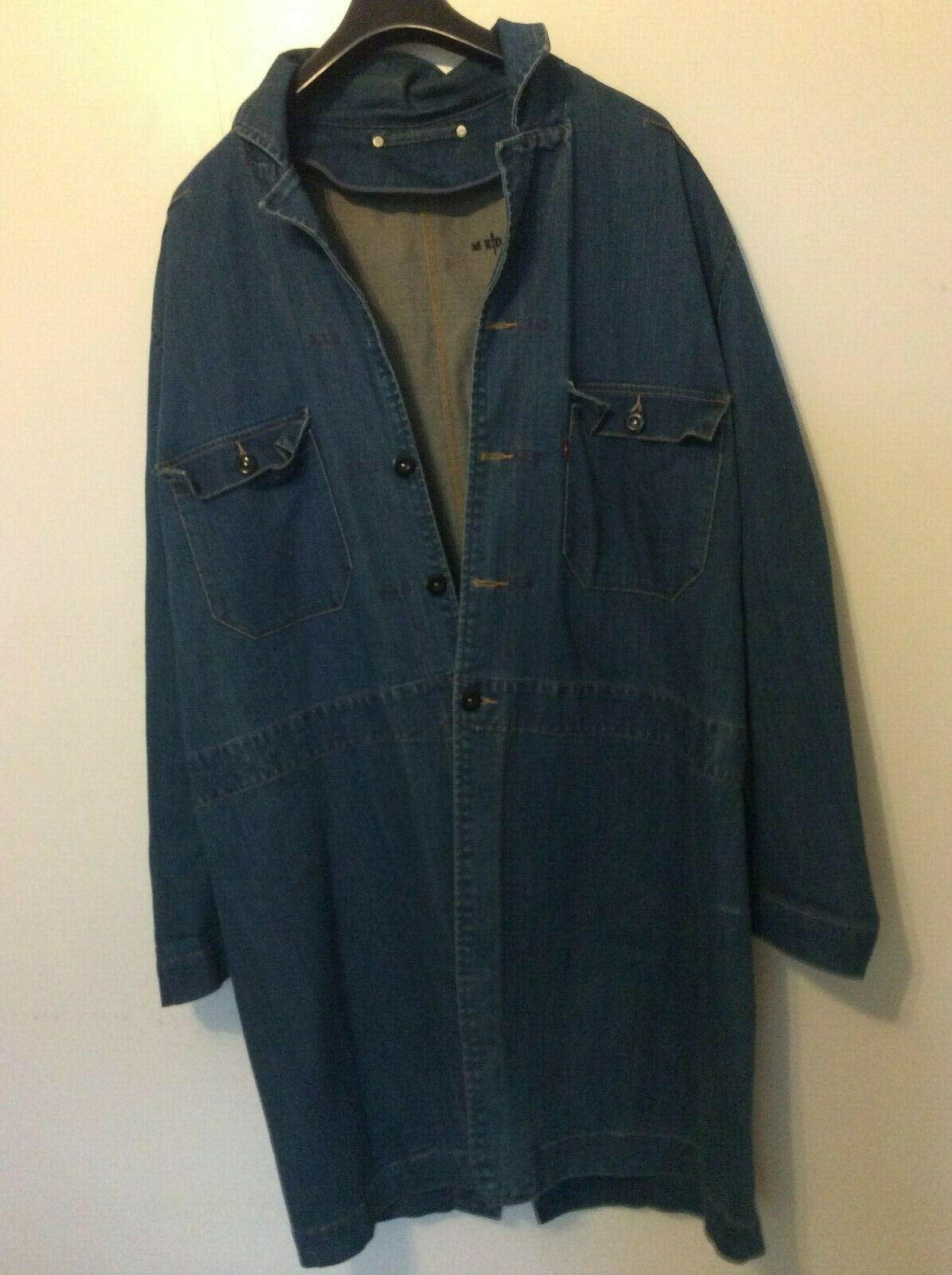 Levi's Red overcoat 01 SS late 1990s  - image 3