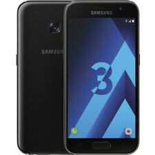 SAMSUNG Galaxy A3 2017 32Go Noir Débloqué Reconditionné Bon état - Garantie