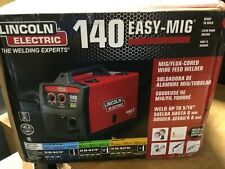 Lincoln Electric Easy Mig 140120 V Ac Input Compact Wire Welder Lewk2697 1