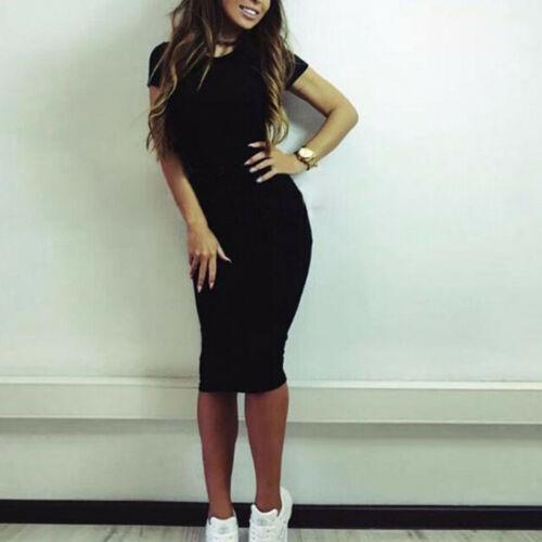 Plus Size Summer Womens Casual Loose Kaftan Short Sleeve Maxi Long Dress S-5XL
