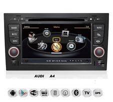 Audi A4 S4 RS4 8E 8F B9 B7 Seat Exeo Android Autoradio Navigation GPS WIFI USB