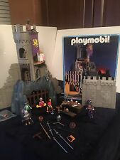 Playmobil 3665 Dragon Baron's Castle Knights Set Complete with Box Lot