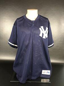 d1f30e8b4 Image is loading Majestic-Diamond-Collection-New-York-Yankees-Mesh-Shirt-