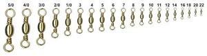 Fishing-Swivels-Brass-Free-Carabiner-N6-Pack-12pcs
