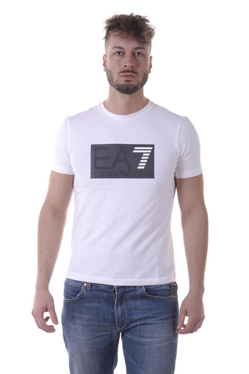 T shirt emporio armani ea7 Weiß mens 3 0pj20z 1100 make yptm offers tl s