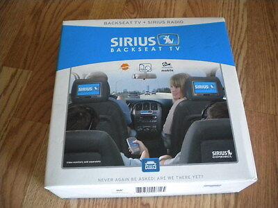Sirius Scv1 Backseat Tv For Sirius Xm Satellite Radio Receiver New Ebay