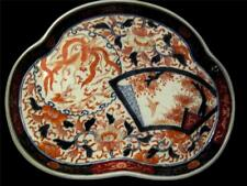 C19th Japanese Imari Serving Plate with Pheonix and Dragon Design.
