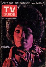 1974 TV Guide November 30-Teresa Graves; John Denver;Paul Newman; Police Woman;