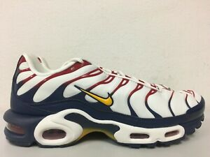 Details about Nike Air Max Plus TN Nautical Pack Sail University Gold AR5400 100 Size 9