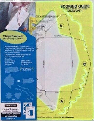 4870-Nuevo Fiskars Envolvente 1 shapecutter forma plantilla ideal para elaboración de Tarjetas