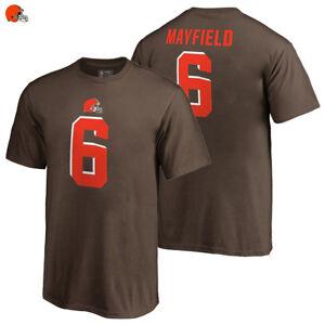 Baker Mayfield Cleveland Browns T-Shirt 2018 NFL Name   Number ... 97bd6dd9d