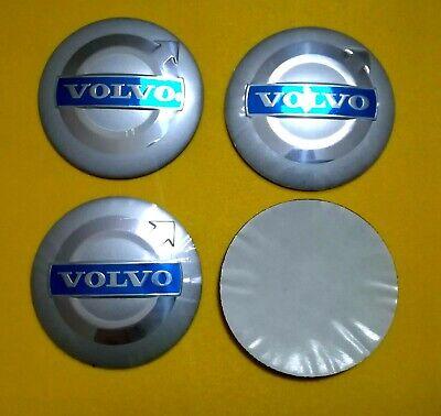 colore blu Volvo Adesivi per coprimozzo in lega N//A 4 x 56 mm